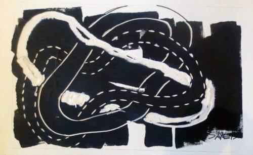 Henry Saxe-2015-Borremean Painting No. 2