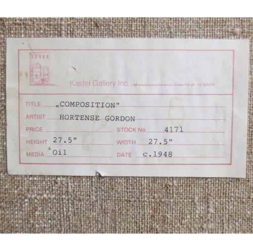 Hortense Mattice Gordon-Untitled