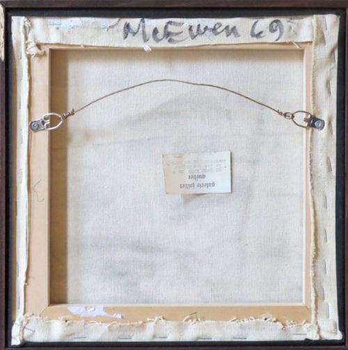 Jean McEwen-No. 4 Le Feu des Signes traverse par un vert