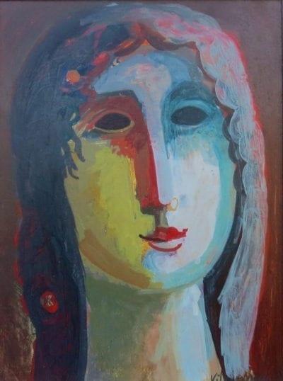 Jesus Carlos de Vilallonga-Contemplative Woman