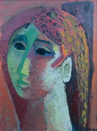 Jesus Carlos de Vilallonga-Young Pensive Woman