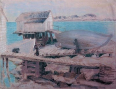 Joseph Plaskett-At Harrington Harbour North Shore P.Q.