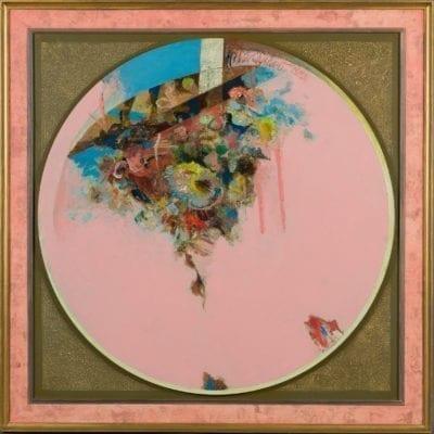 Tony Urquhart-Flowers in Pink