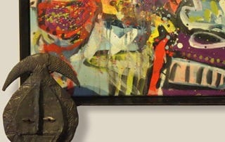 displaying art in the home