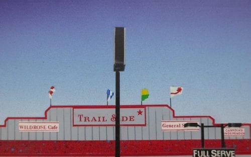 David Thauberger-Trail Side