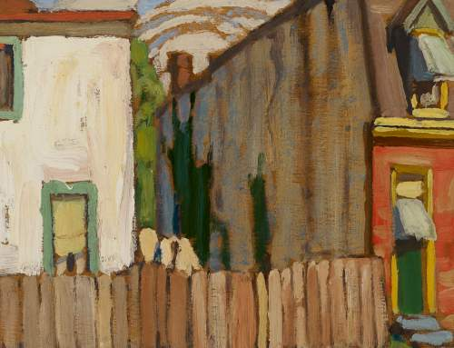 Lawren Harris-c. 1920-House Toronto