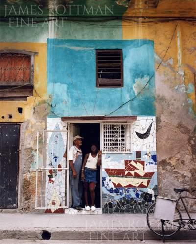 Vincenzo Pietropaolo-Madrina in a Trance Santeria Ritual Havana