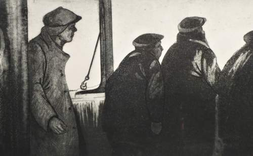 David Blackwood, 1971, Search Party Returning