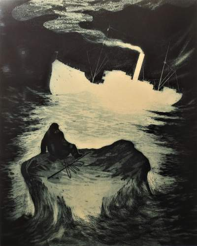 David Blackwood, 1970, Survivor Drifting