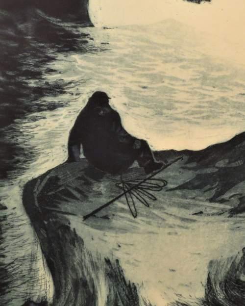 David Blackwood, 1970, Survivor Drifting