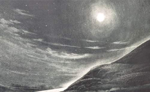 David Blackwood, 1981, Wesleyville, Night Passage Bennett's High Island