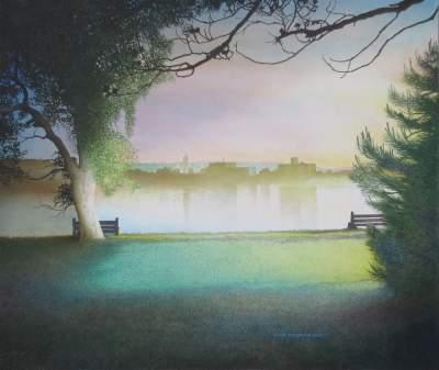 Lloyd Fitzgerald, 2000, Fredericton, Evening