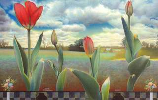 Lloyd Fitzgerald, Enigmatic Landscape, 2005